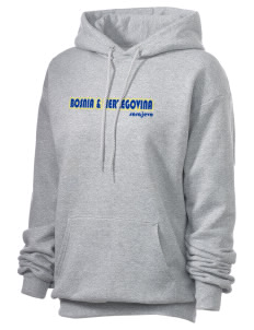 Bosnia & Herzegovina Unisex 7.8 oz Lightweight Hooded Sweatshirt