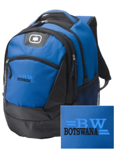 Botswana Embroidered OGIO Rogue Backpack
