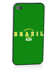 Brazil Apple iPhone 4/4S Skin