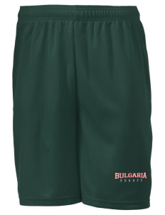 "Bulgaria Men's Mesh Shorts, 7-1/2"" Inseam"