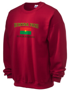 Burkina Faso Ultra Blend 50/50 Crewneck Sweatshirt