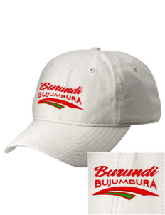 Burundi  Embroidered New Era Adjustable Unstructured Cap