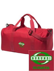 Burundi Embroidered Holloway Duffel Bag