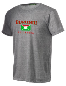 Burundi Alternative Men's Eco Heather T-shirt
