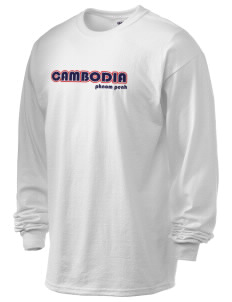Cambodia 6.1 oz Ultra Cotton Long-Sleeve T-Shirt