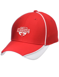 Canada Embroidered New Era Contrast Piped Performance Cap