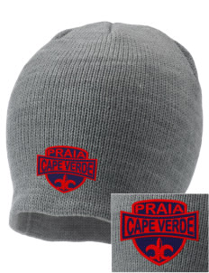 Cape Verde Embroidered Knit Cap