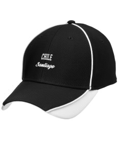 Chile Embroidered New Era Contrast Piped Performance Cap