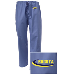 Colombia Embroidered Scrub Pants