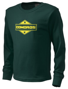 Comoros  Kid's Long Sleeve T-Shirt