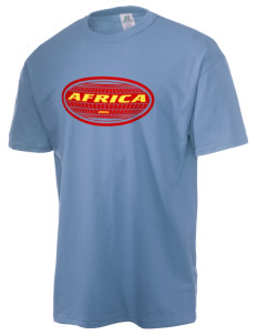 Democratic Republic of the Congo  Russell Men's NuBlend T-Shirt