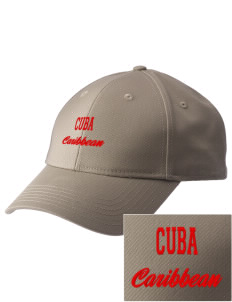 Cuba  Embroidered New Era Adjustable Structured Cap