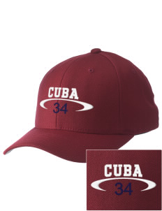 Cuba Embroidered Pro Model Fitted Cap