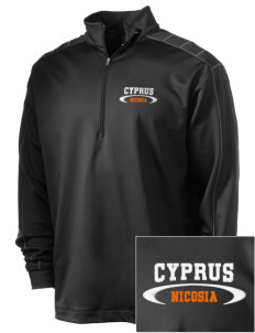 Cyprus Embroidered Nike Men's Golf Dri-Fit 1/2 Zip