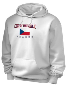Czech Republic Holloway Men's 50/50 Hooded Sweatshirt