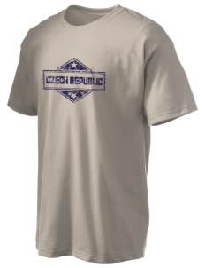 Czech Republic Hanes Men's 6 oz Tagless T-shirt