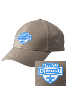 Djibouti  Embroidered New Era Adjustable Structured Cap