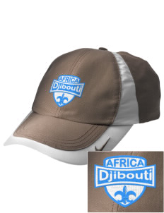 Djibouti Embroidered Nike Golf Colorblock Cap