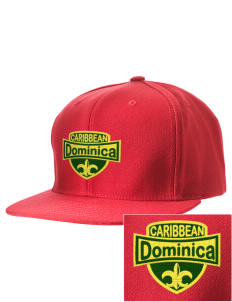 Dominica Embroidered D-Series Cap