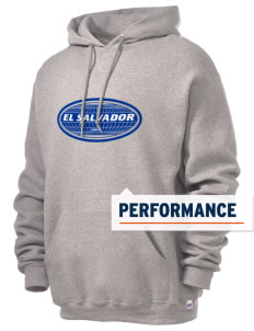 El Salvador Russell Men's Dri-Power Hooded Sweatshirt