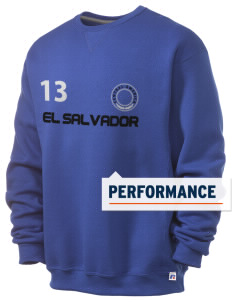El Salvador  Russell Men's Dri-Power Crewneck Sweatshirt