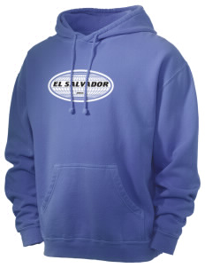 El Salvador Men's 80/20 Pigment Dyed Hooded Sweatshirt
