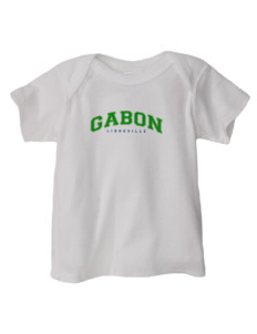 Gabon  Baby Lap Shoulder T-Shirt
