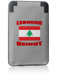 Lebanon Kindle Keyboard 3G Skin