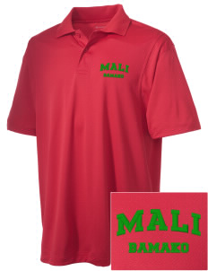 Mali Embroidered Men's Micro Pique Polo