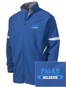 Palau Holloway Embroidered Men's Radius Zip Front Jacket