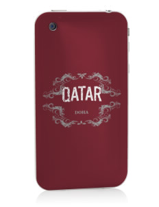Qatar Apple iPhone 3G/ 3GS Skin
