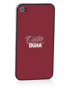 Qatar Apple iPhone 4/4S Skin
