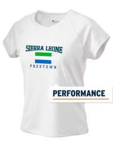 Sierra Leone Champion Women's Wicking T-Shirt