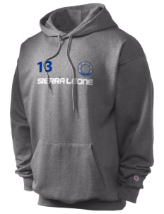Sierra Leone Champion Men's Hooded Sweatshirt