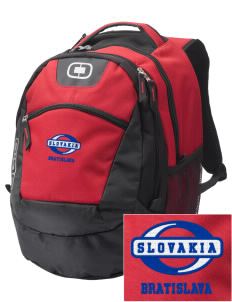 Slovakia Embroidered OGIO Rogue Backpack