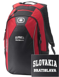 Slovakia Embroidered OGIO Marshall Backpack