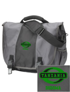 Tanzania  Embroidered Montezuma Messenger Bag