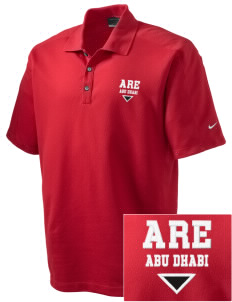 United Arab Emirates Embroidered Nike Men's Dri-FIT Pique II Golf Polo