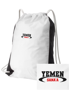 Yemen Embroidered Holloway Home and Away Cinch Bag