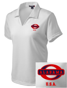 Alabama Embroidered Women's Dri Mesh Polo