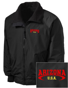 Arizona Embroidered Tall Men's Challenger Jacket