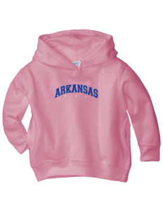 Arkansas  Toddler Fleece Hooded Sweatshirt with Pockets