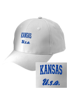 Kansas Embroidered Low-Profile Cap