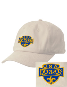 Kansas Embroidered Champion 6-Panel Cap