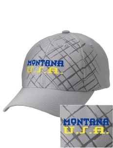 Montana Embroidered Mixed Media Cap
