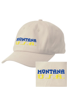 Montana Embroidered Champion 6-Panel Cap