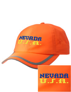 Nevada  Embroidered Safety Cap