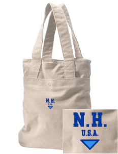 New Hampshire Embroidered Alternative The Berkeley Tote