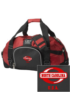 North Carolina  Embroidered OGIO Big Dome Duffel Bag