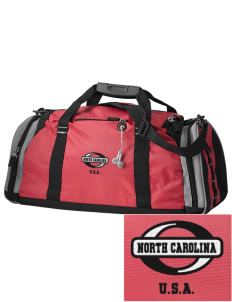 North Carolina Embroidered OGIO All Terrain Duffel